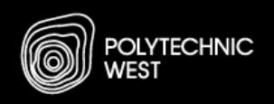 Polytechnic West logo